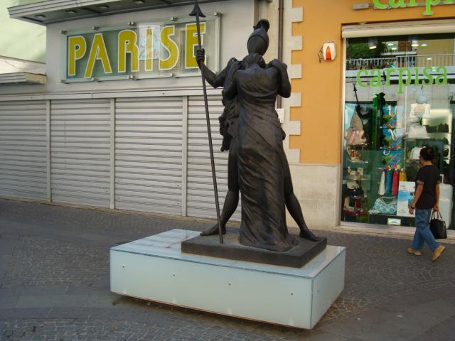 De Chirico - Ettore e Andromaca