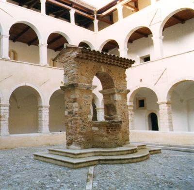 il chiostro di S. Agostino