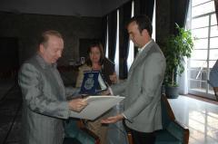 Occhiuto e prof Walter Kindl (Romania)
