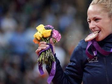 Rosalba Forciniti medaglia di bronzo alle Olimpiad