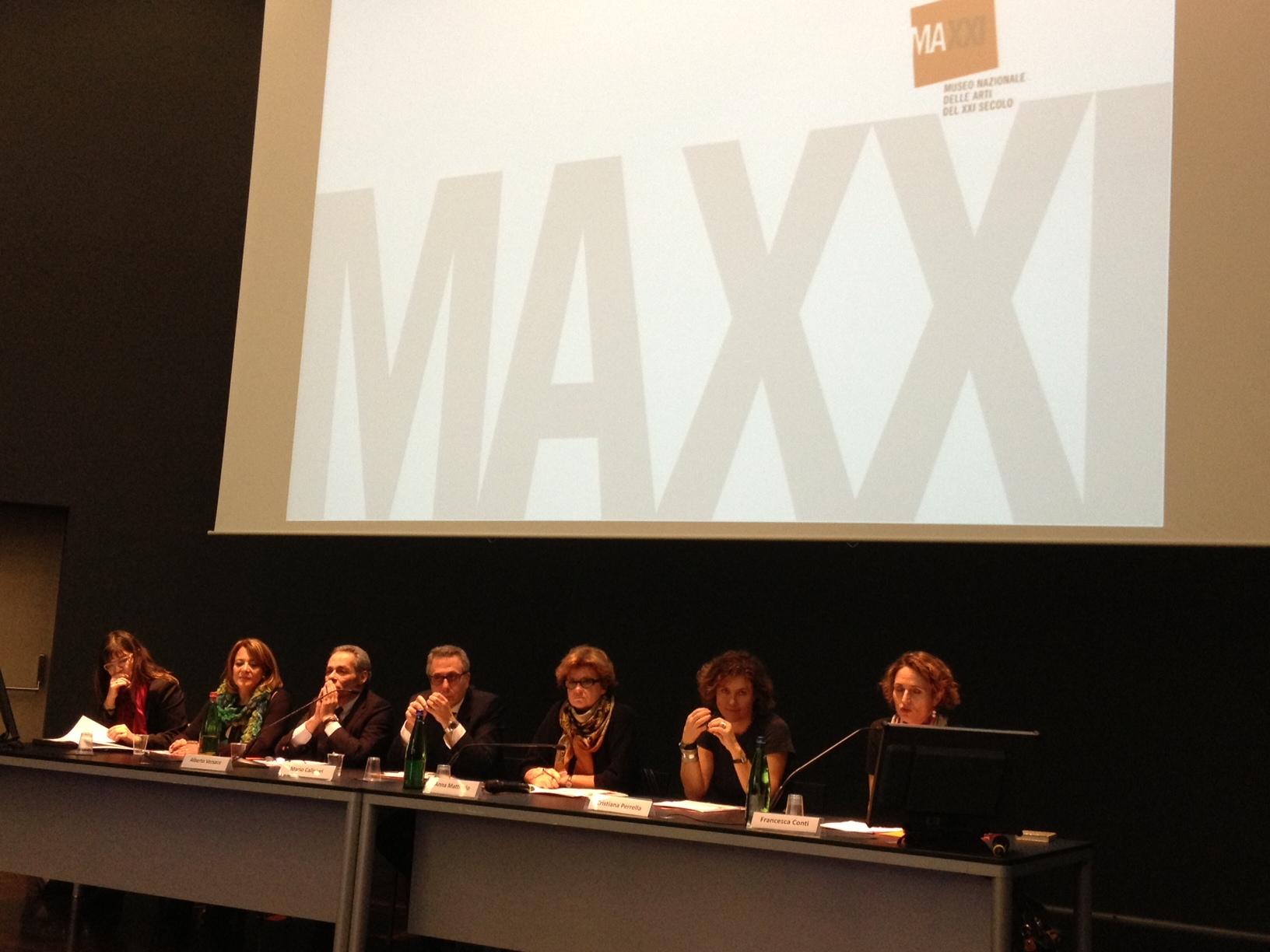 conferenza al maxxi