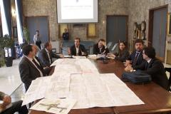 Firma contratto piazza Bilotti
