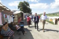 sindaco al campo rom