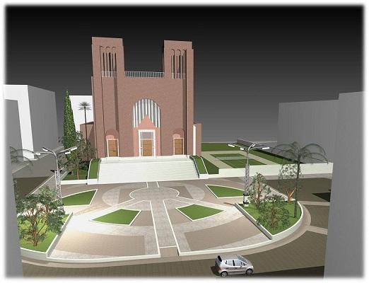Santa Teresa rendering