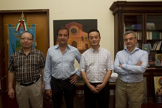 Occhiuto con delegazione cinese e sinologo Sisci