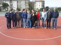commissione sport in visita al pattinodromo