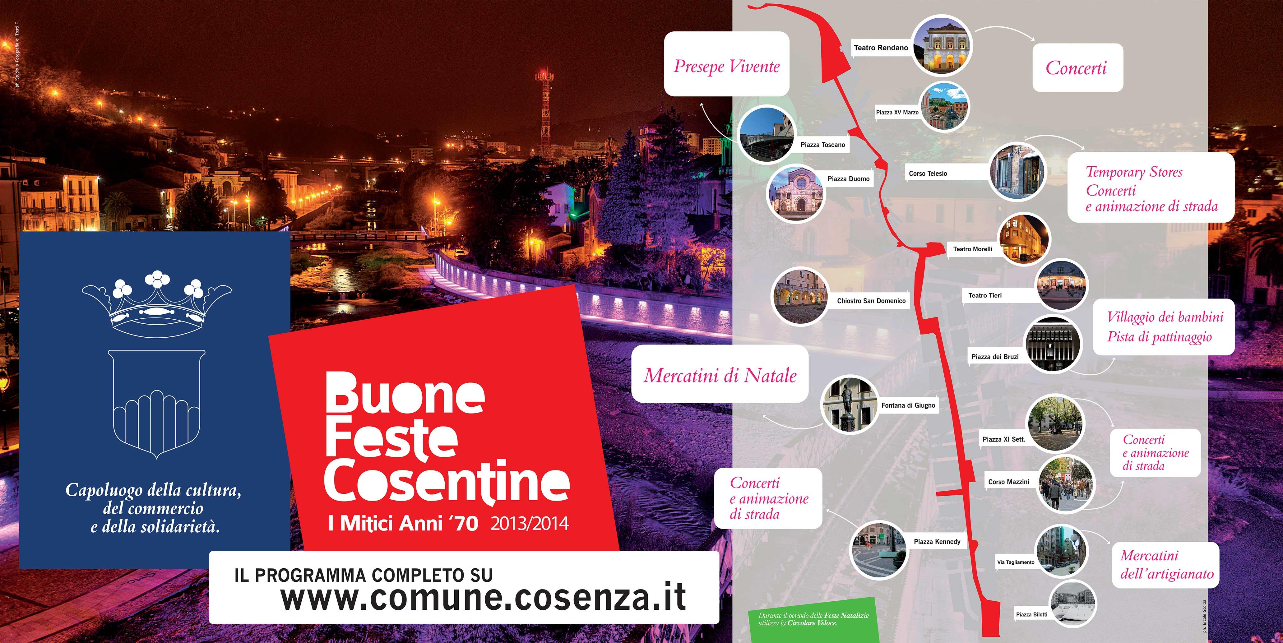poster Buone feste 2013