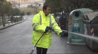 sindaco occhiuto pulisce la città