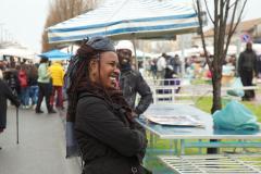 Fiera di San Giuseppe 2014 Immigrati sorridenti