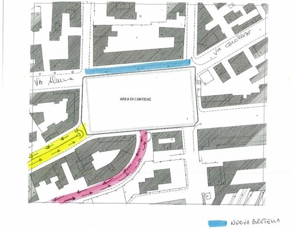 nuovo cantiere piazza Bilotti