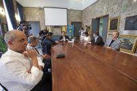 Conferenza stampa ordinanza assunzioni al pronto s