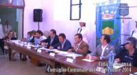 Consiglio Comunale 3 settembre 2014