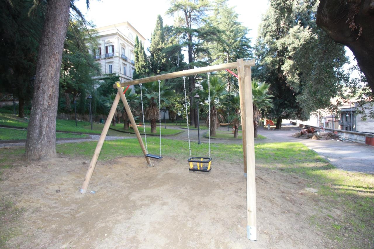 giochi in villa vecchia