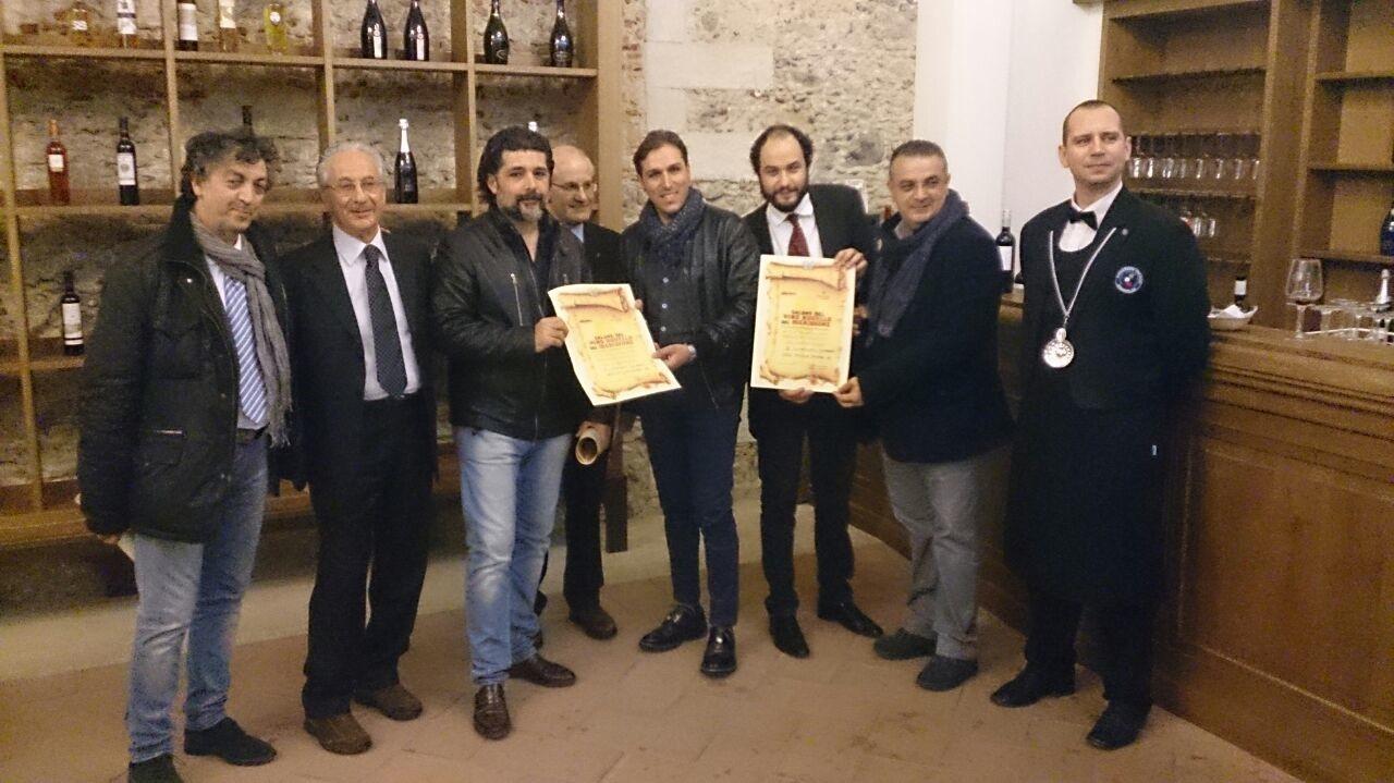 premiazione salone del vino novello