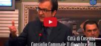 Consiglio Comunale 11 dicembre 2014
