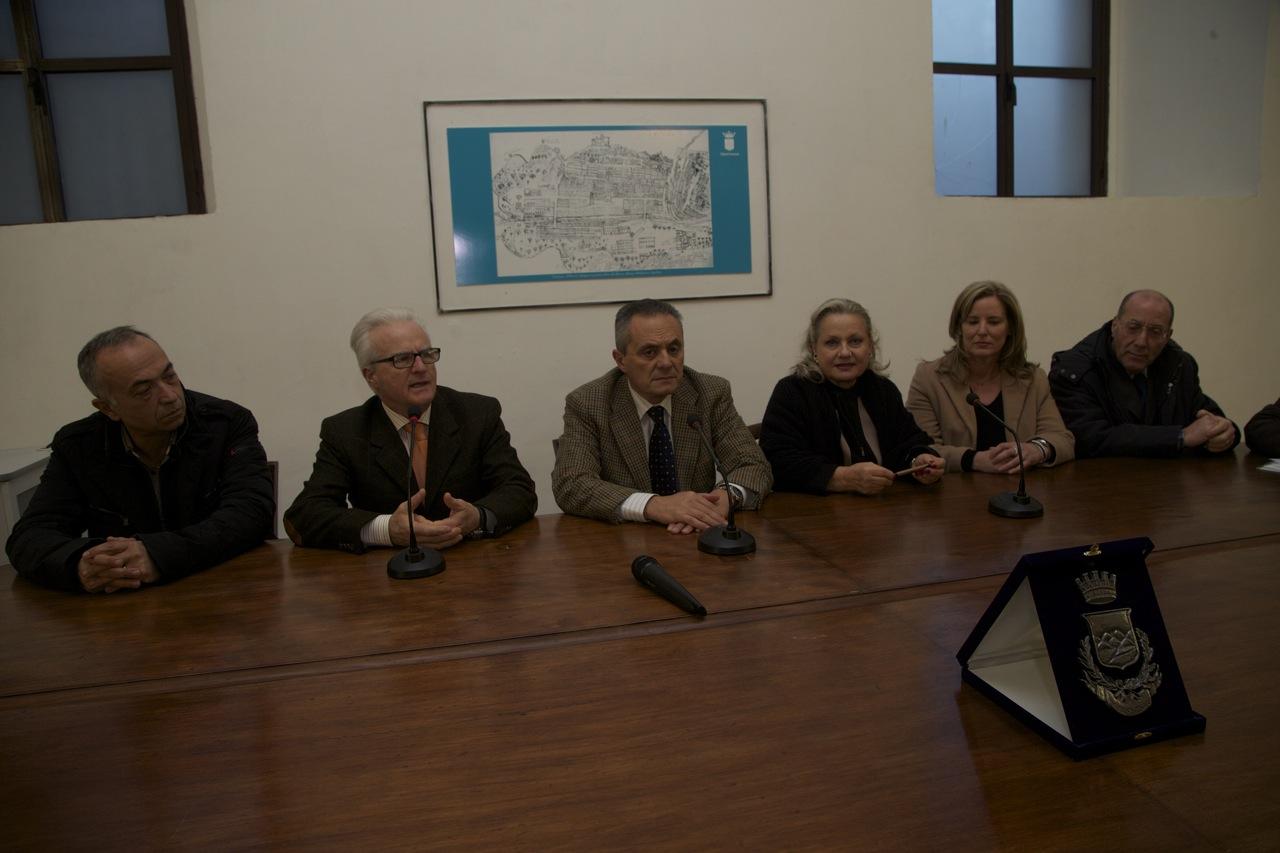 commissione cultura incontra studenti australiani