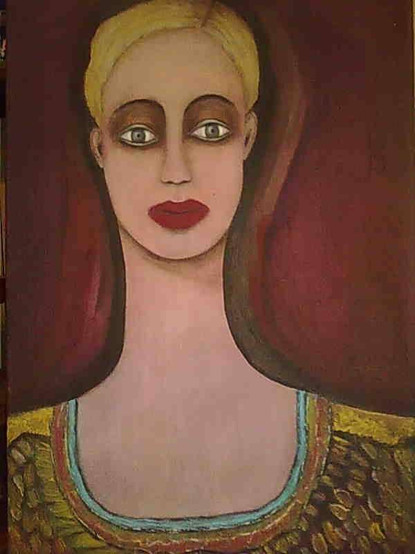 dipinto di calliope michalolia
