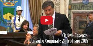 Consiglio Comunale 24 febbraio 2015
