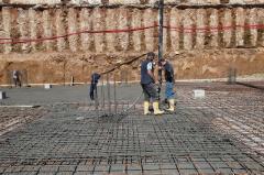 fondazioni parcheggio piazza bilotti
