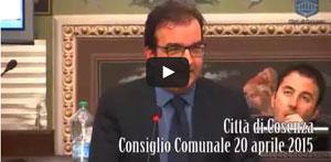 Consiglio Comunale 20 aprile 2015