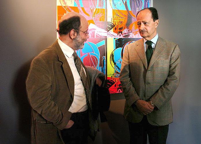 Carlo Bilotti e Tonino Sicoli