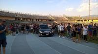 Marulla feretro stadio San Vito