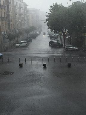 Maltempo corso Mazzini luglio 2015