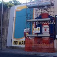 Murales per Marulla Lucamaleonte