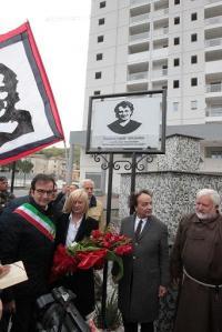 Inaugurazione piazza Denis Bergamini