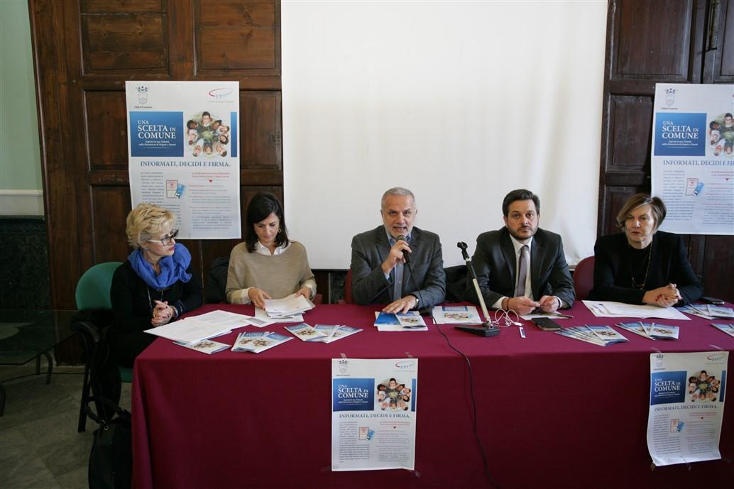 conferenza stampa donazione organi