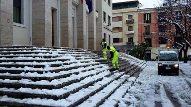 Interventi sgombero neve