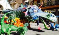 i draghi a piazza kennedy