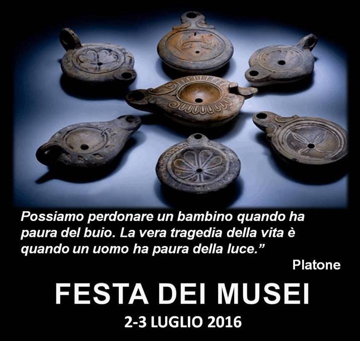 locandina festa dei musei