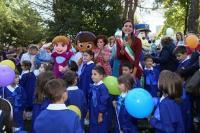 Loredana Pastore visita nelle scuole Primo giorno