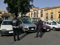 Polizia Municipale in piazza Riforma