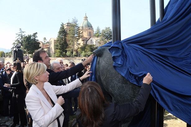 Inaugurazione Statua Alarico