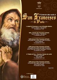locandina manifestazioni per san francesco