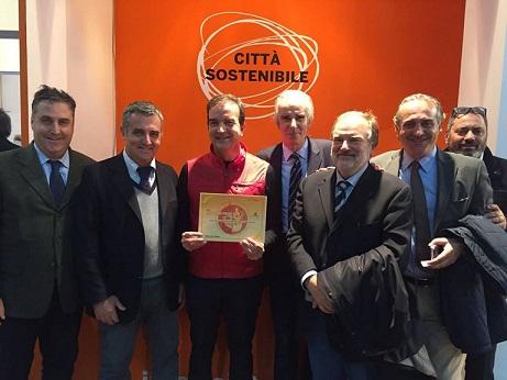 Occhiuto premiato alla Fiera Ecomondo 2016 di Rimi