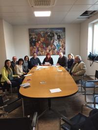 commissione servizi sociali incontra gianni romeo