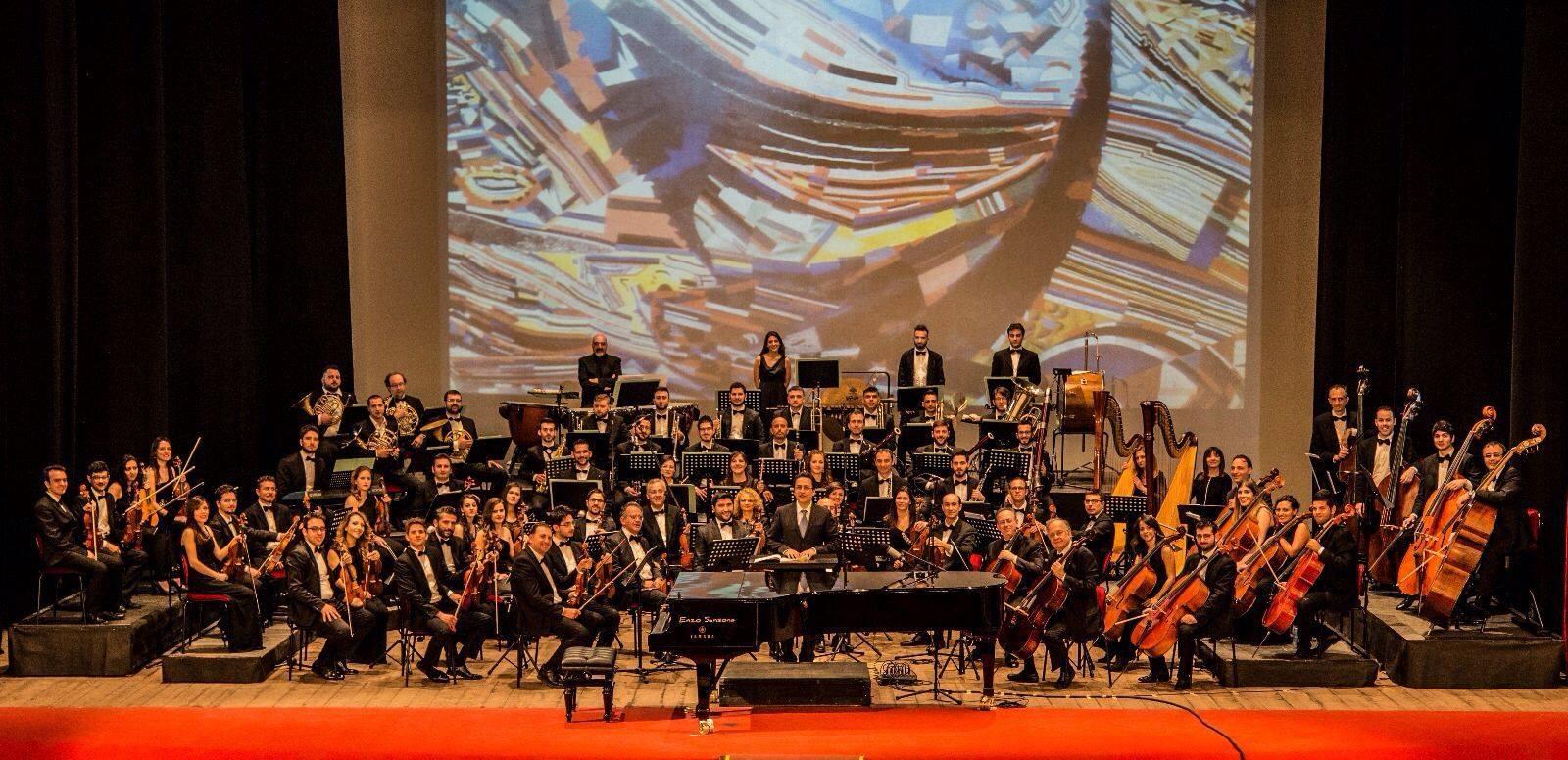 l\'orchestra del teatro rendano