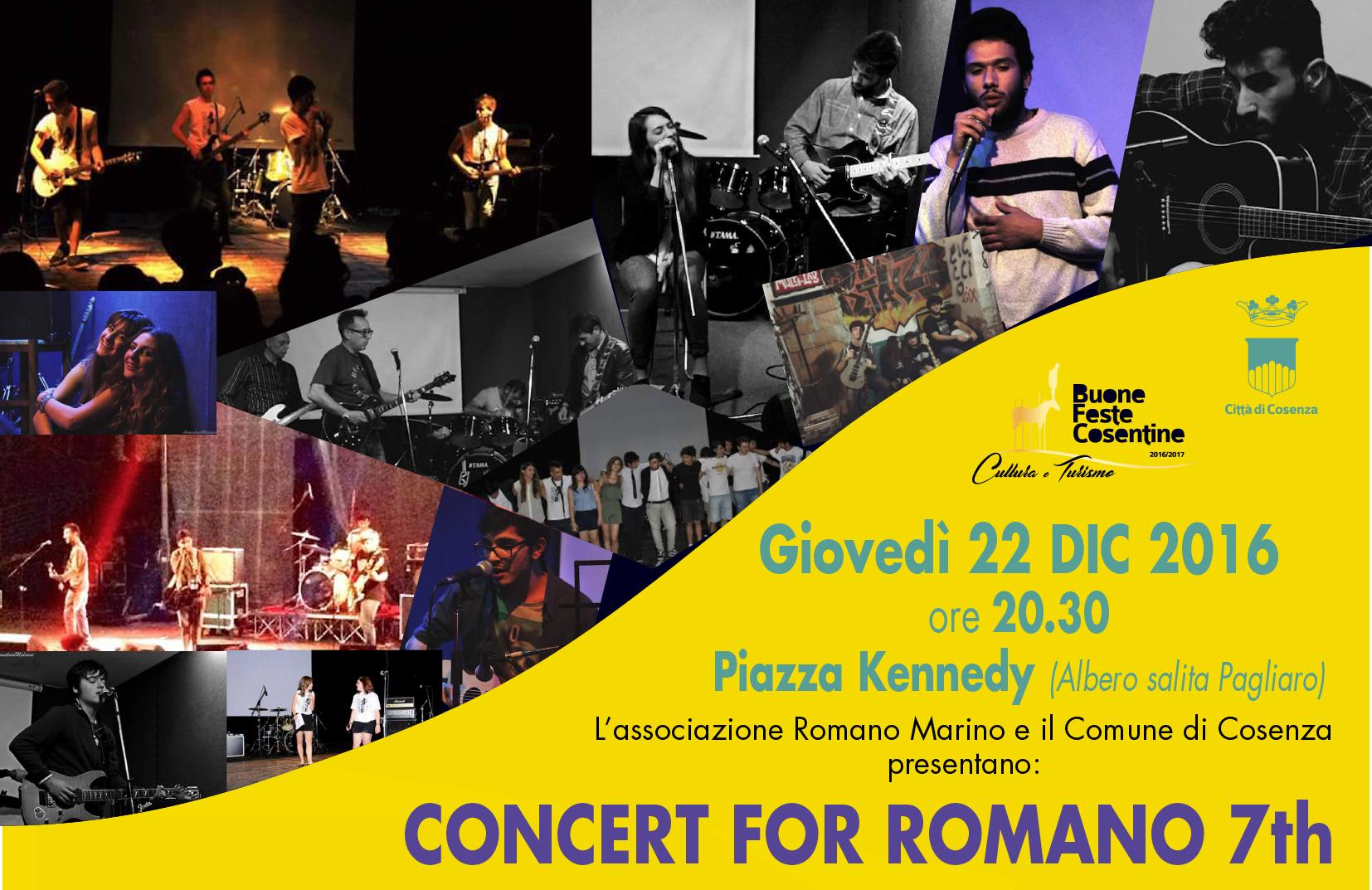 concert for romano