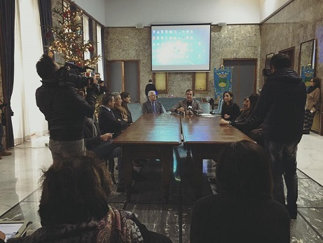 Conferenza stampa di Occhiuto fine anno 2016