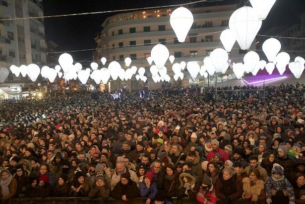 Capodanno a piazza Bilotti