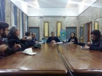 Conferenza stampa d\'urgenza sull\'acqua Sindaco Occ