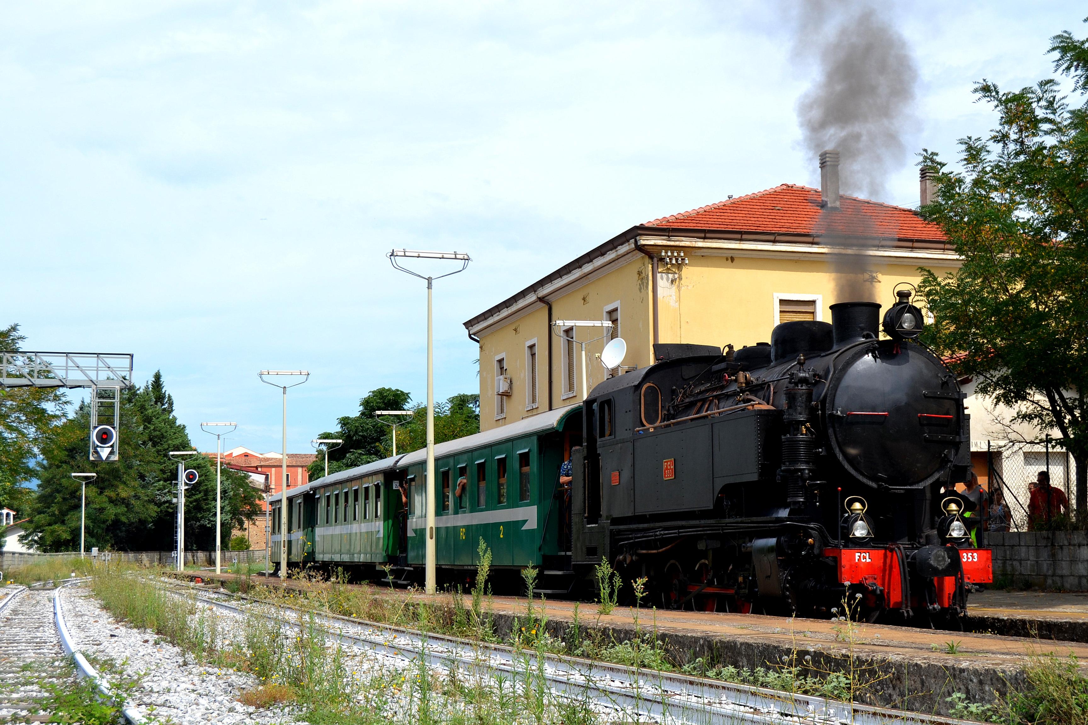 ferrovie delle calabria