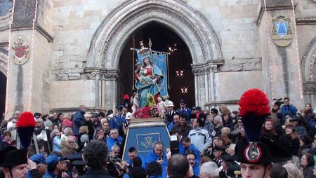 processione madonna del pilerio