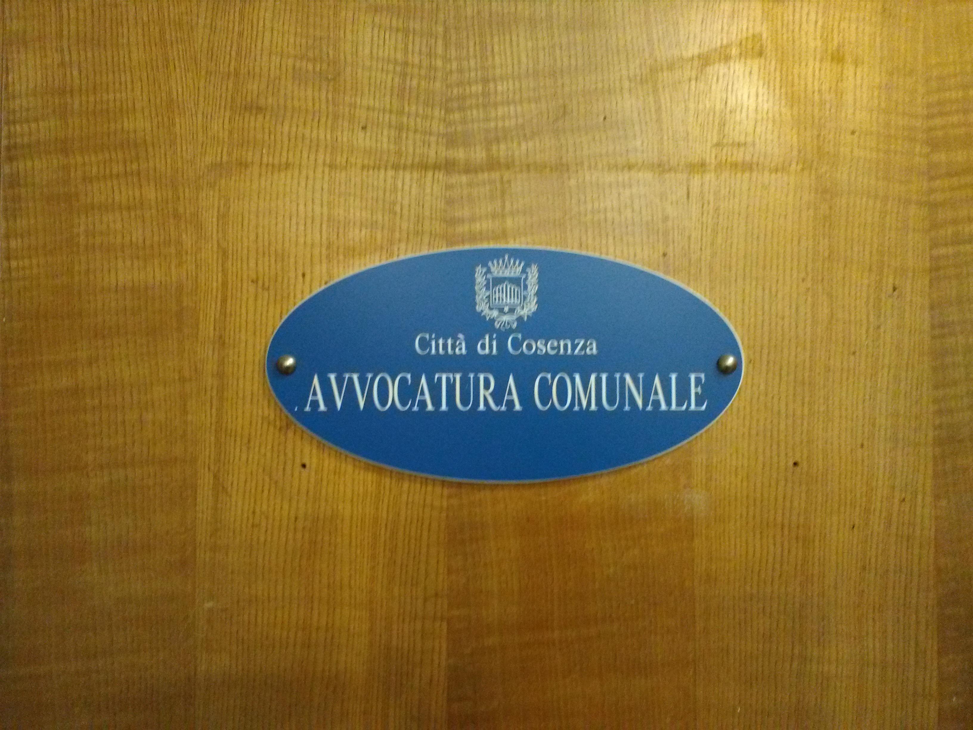 avvocatura comunale
