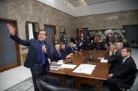Conferenza nuovo Stadio San Vito Gigi Marulla