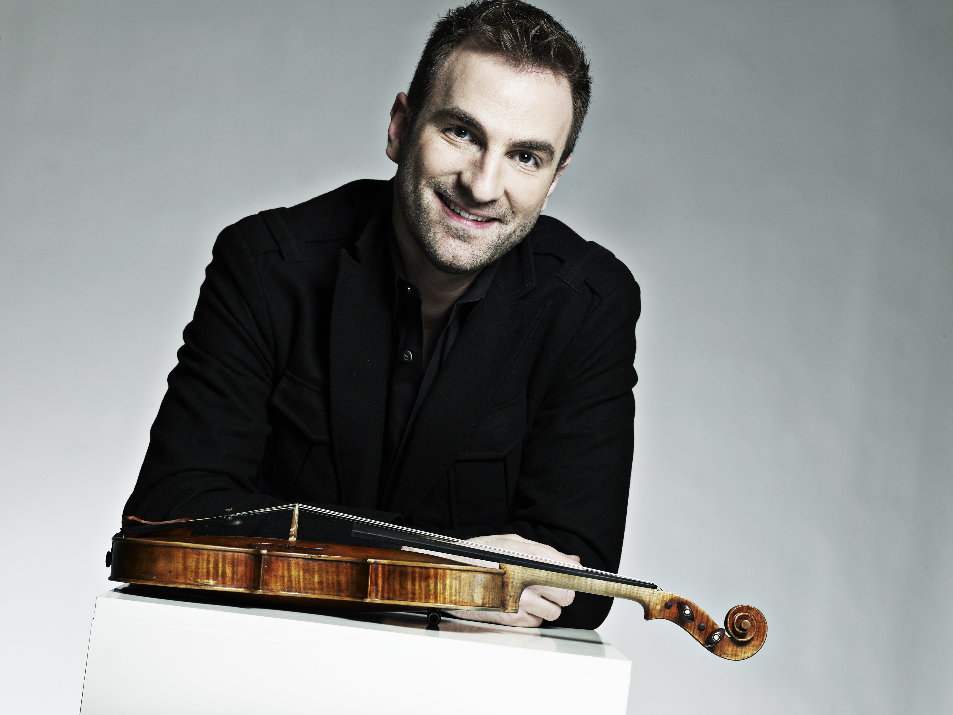 il violinista Stefan Milenkovich