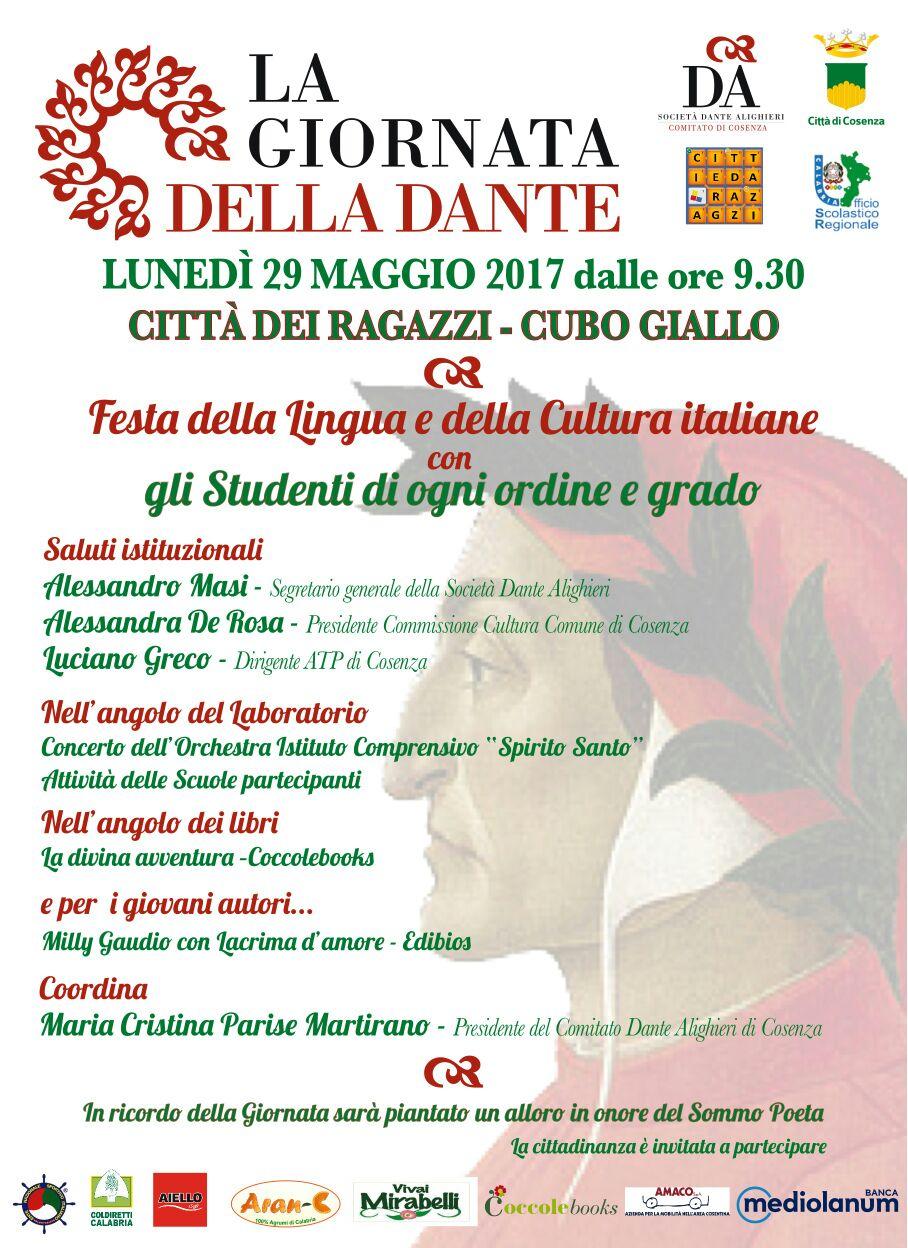 la giornata della Dante